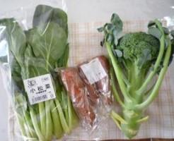 おいしっくす小松菜とブロッコリー
